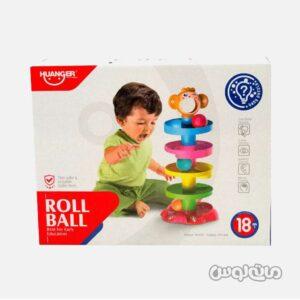 اسباب بازی توپ و سرسره 5 طبقه میمون
