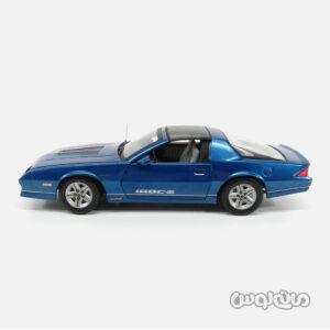 ماشین مدل شورلت کامارو آبی سان استار