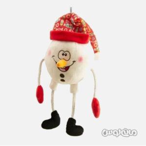 عروسک پلاش آدم برفی فنری یانیک