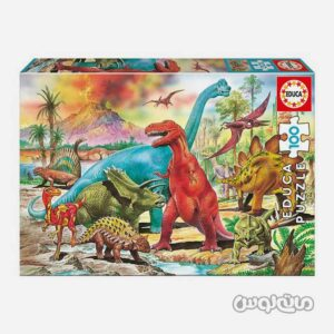 پازل دایناسورها ادوکا