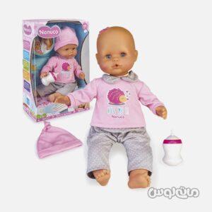 عروسک نوزاد گریه کن با شیشه شیر فاموسا