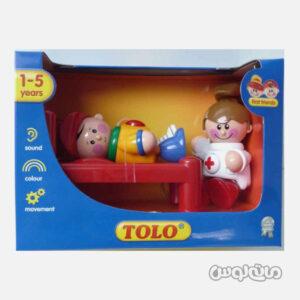 اسباب بازی بیمارستان تولو