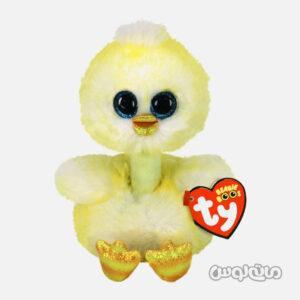 عروسک جوجه طلایی زرد تی وای
