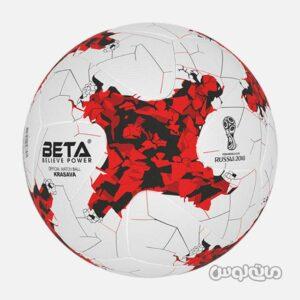 توپ فوتبال طرح جام جهانی روسيه 2018 بتا اسپرت