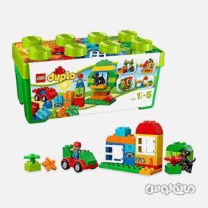 لگو مجموعه 65 قطعه جعبه سبز دوپلو