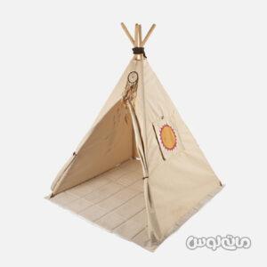 چادر سرخ پوستی با تشک بامتی