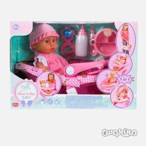 عروسک نوزاد با کریر لوتوس