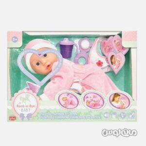 عروسک نوزاد در حالت چهار دست و پا لوتوس