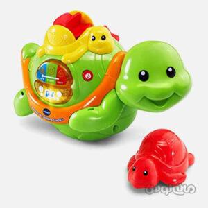 اسباب بازی لاکپشت موزیکال حمام وی تک