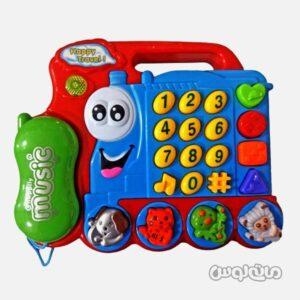اسباب بازی تلفن قطار موزیکال