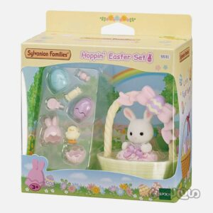 ست جشن عید پاک خرگوش سیلوانیان فامیلیز
