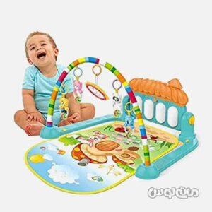 تشک بازی نوزاد با پیانو آموزشی کوچک هانگر