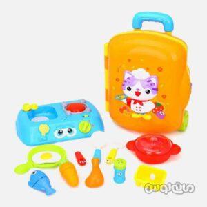 اسباب بازی چمدان آشپزی هولا