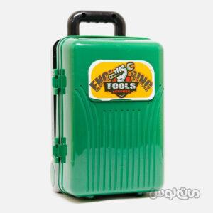 اسباب بازی چمدان سبز 4 در 1 ابزار لیرانجی