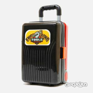 اسباب بازی چمدان مشکی 4 در 1 ابزار لیرانجی