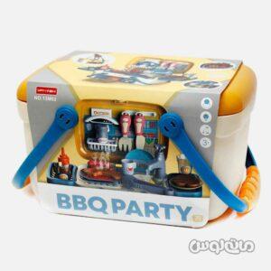 اسباب بازی باکس 2 در 1 باربیکیو 30 قطعه وانیه