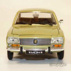 ماشین مدل 1:24 پژو 1975 ولی