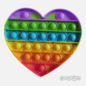 اسباب بازی پاپ ایت طرح قلب