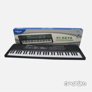 اسباب بازی کیبورد الکترونیکی 61 کلید همراه با میکروفون بیگ فان