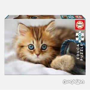 پازل 200 تکه بچه گربه ادوکا