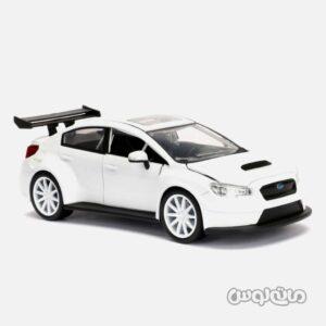 ماشین مدل سوبارو WRX سفید