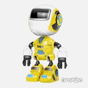 اسباب بازی ربات فلزی کوچک موزیکال مینگ یینگ