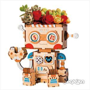 ربات گلدان روبوتایم ساختنی