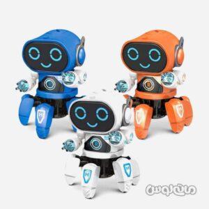ربات هشت پا کنترلی رانگ زیان ییی