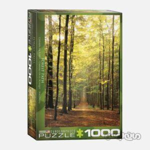 پازل 1000 تکه مسیر جنگلی یوروگرافیک