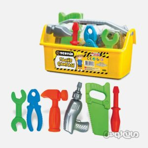 ست اسباب بازی جعبه ابزار دد