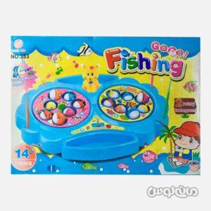 اسباب بازی ماهیگیری موزیکال 14 تایی دانگ زین