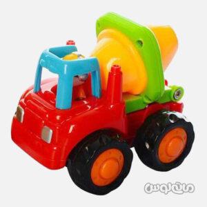 اسباب بازی ماشین راه سازی قدرتی کوچک هولا