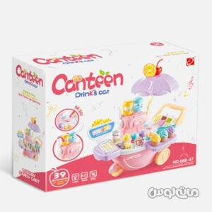 ست اسباب بازی ترولی بستنی فروشی موزیکال جیا چنگ