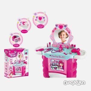ست اسباب بازی میز آرایش همراه با 23 تکه لوازم زینگچن