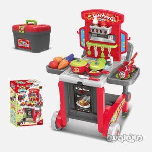 پلی ست اسباب بازی آشپزخانه همراه با لوازم زینگچن