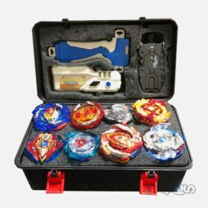 اسباب بازی فرفره انفجاری 8 عددی چمدانی