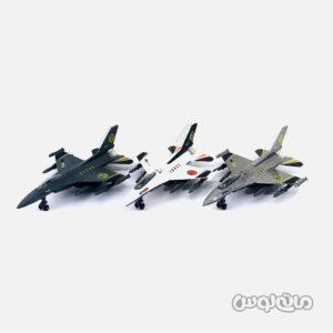 اسباب بازی هواپیما جنگی 1:72 عقب کش موزیکال