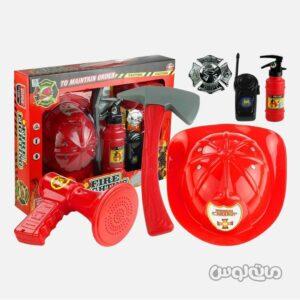 ست اسباب بازی آتشنشانی باینو