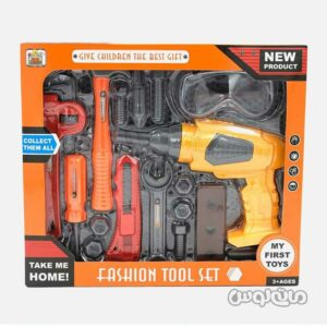 ست اسباب بازی ابزار 18 قطعه