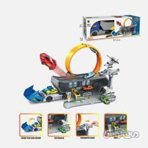 اسباب بازی کامیون حمل ریسینگ دایره ای پنگ رانگ