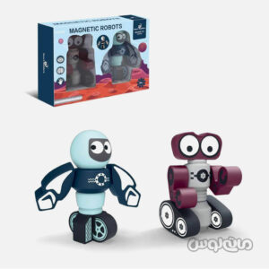 اسباب بازی ربات مغناطیسی 2 عددی اسمارت بیلدرز