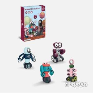 اسباب بازی ربات مغناطیسی 4 عددی اسمارت بیلدرز
