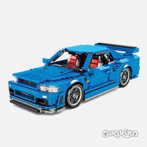 نیسان GTR 34 عقب کش 833 قطعه اس وای